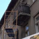 Ремонт на фасада и къртене на мазилка